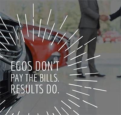 Egos don't pay bills