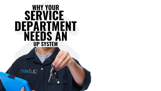 Learn about Service Department Up Systems.